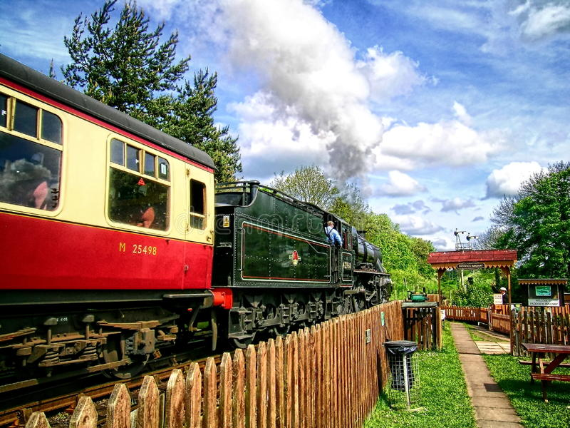 The Rural Railway royalty free stock images