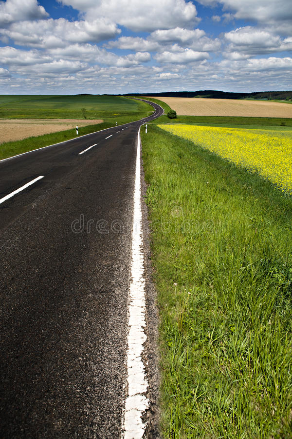 Download Rural road stock image. Image of hiking, field, germany - 24840543