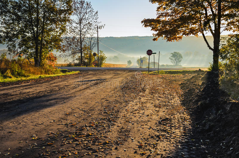 Download Rural Road stock photo. Image of landscape, empty, colorful - 24984974