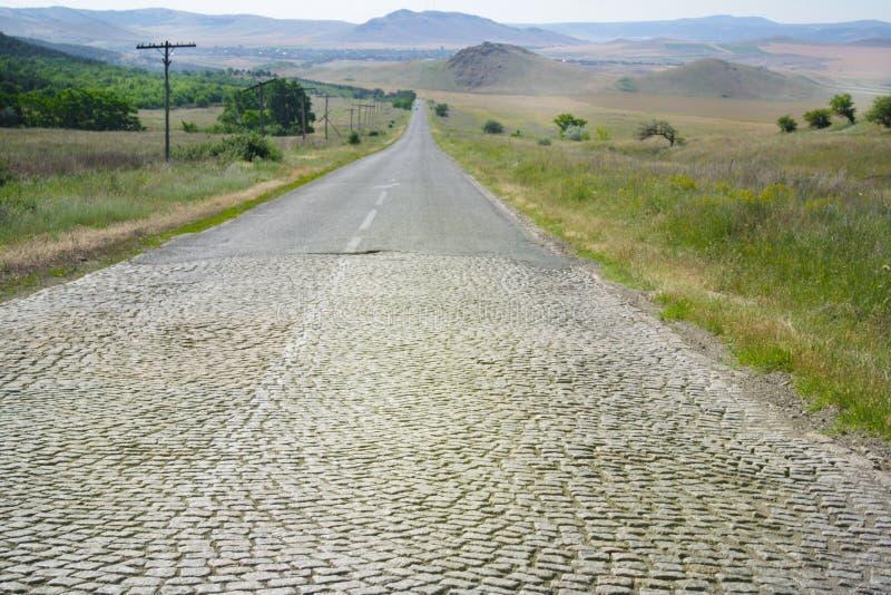 Download Rural road stock image. Image of green, natural, long - 28659251