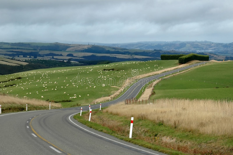 Rural Road royalty free stock photos