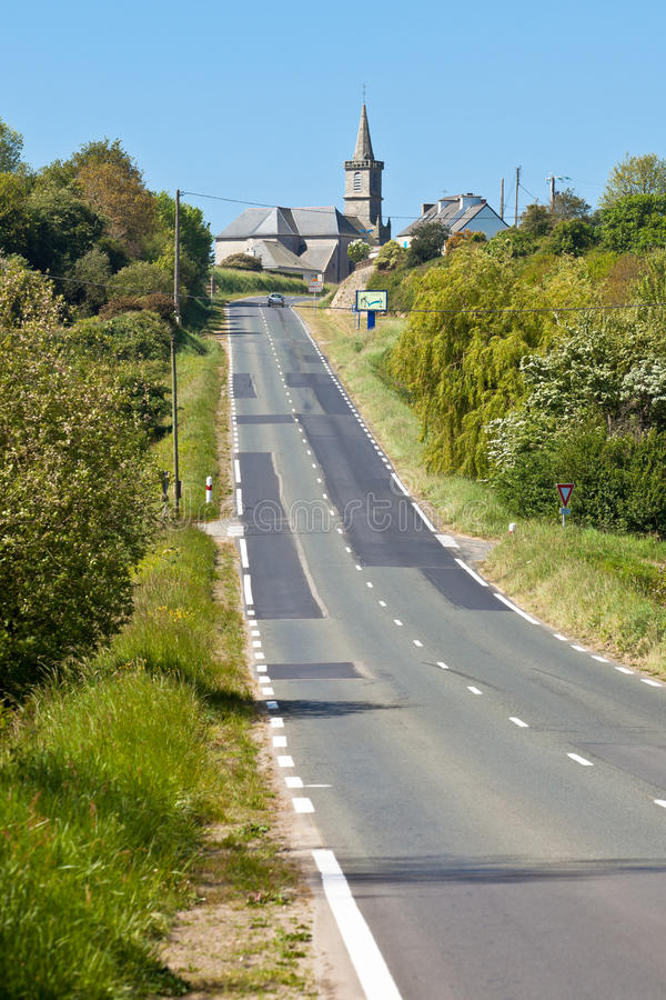 Download Rural Road At Western France Stock Image - Image: 28742977