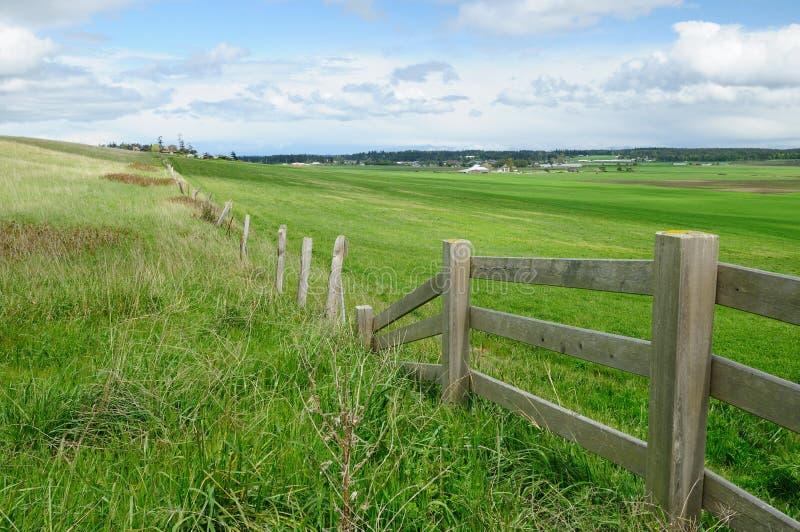 Rural scene of ebey's landing royalty free stock image