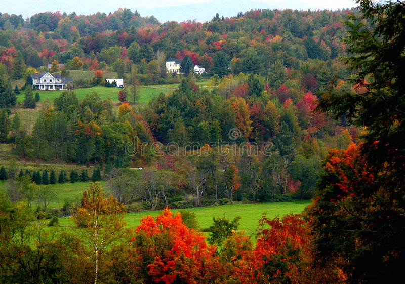 Rural Scene in Fall royalty free stock photography