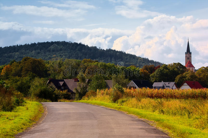 Download Rural scenery stock image. Image of landscape, fall, poland - 34370023
