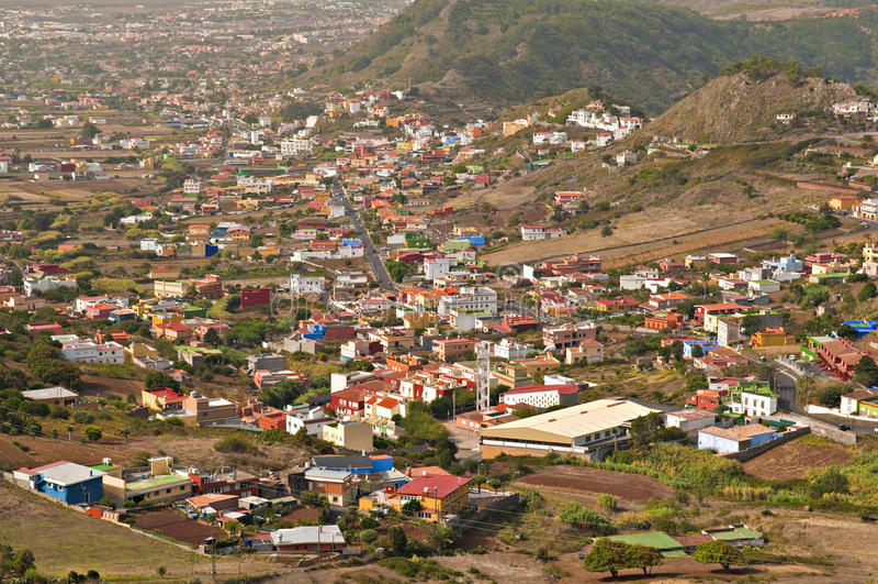 Rural settlements stock photo