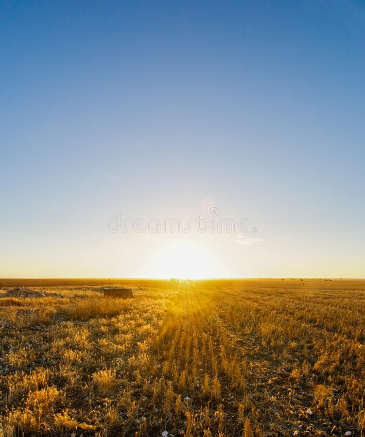 Download Rural Sunset stock photo. Image of drought, summer, outdoor - 30460634