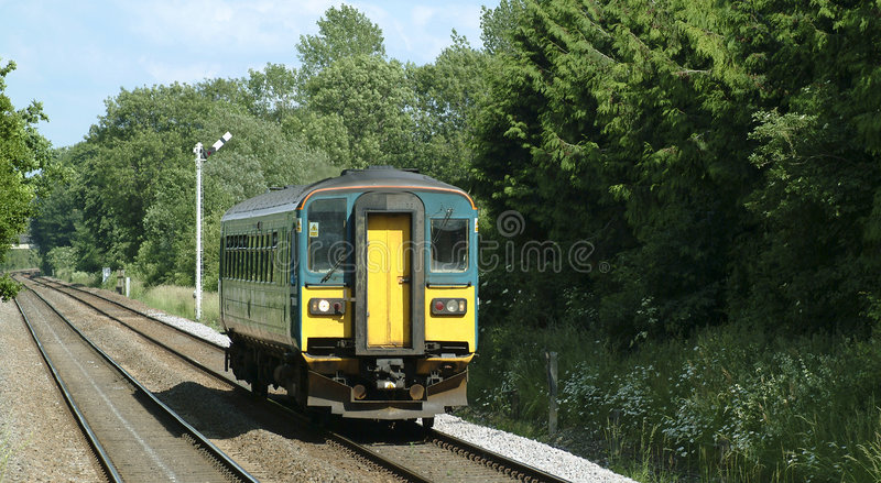 Rural train royalty free stock photos