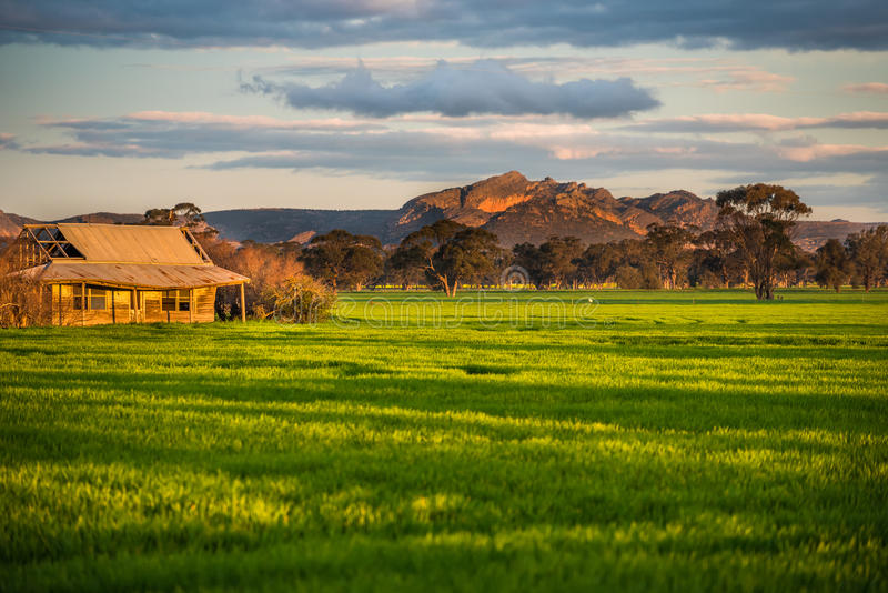 Rural Victoria Grampians. Rural Victoria many things to see and do stock photography