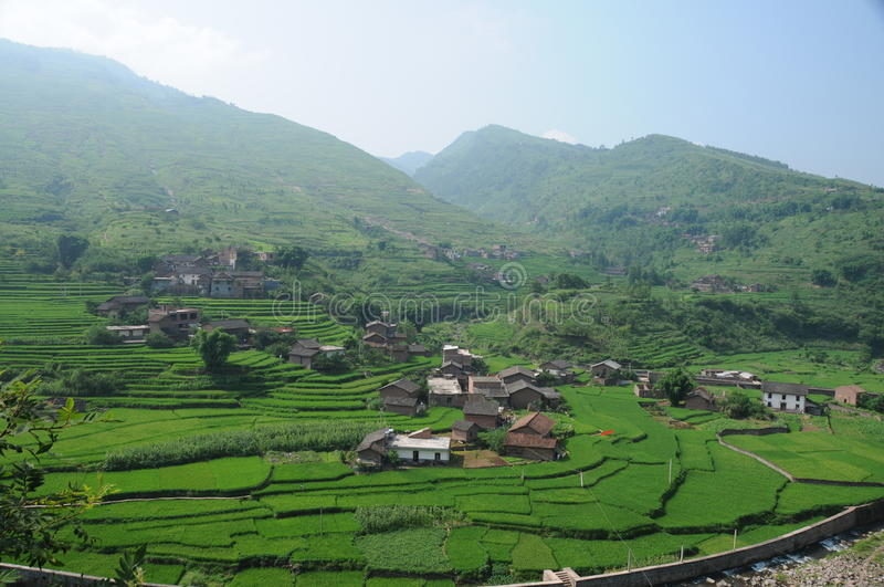 Rural and village stock images