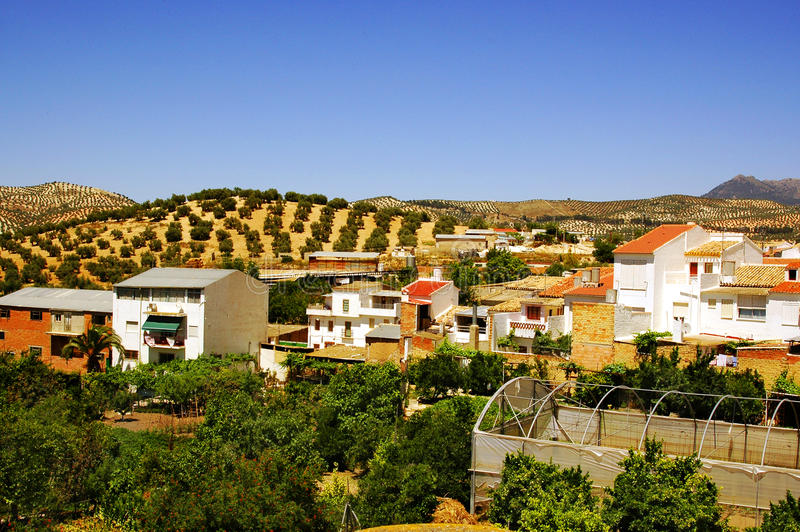 Download Rural Village In Andalusia, Spain Stock Image - Image: 16403009