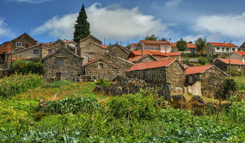 Download Rural Village Of Lamas De Olo In Vila Real Stock Photo - Image of stone, building: 84882680