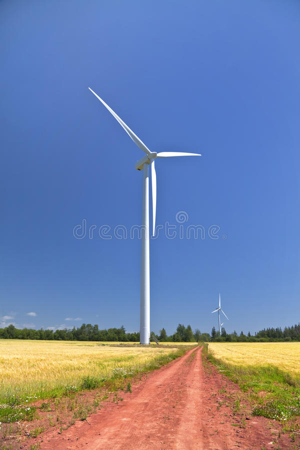 Rural Windmills royalty free stock photos