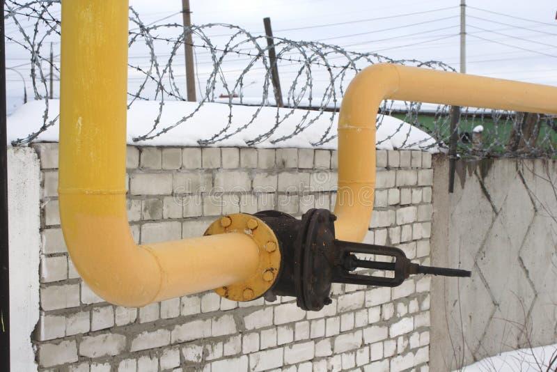 rurociąg gazowy zdjęcie royalty free