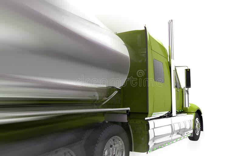 Rusa den isolerade halva lastbilen stock illustrationer