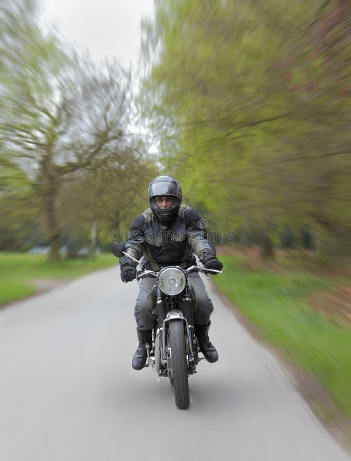 rusa för motorcykel royaltyfria foton