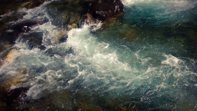 Rusa glaciärnedgången banff arkivbilder