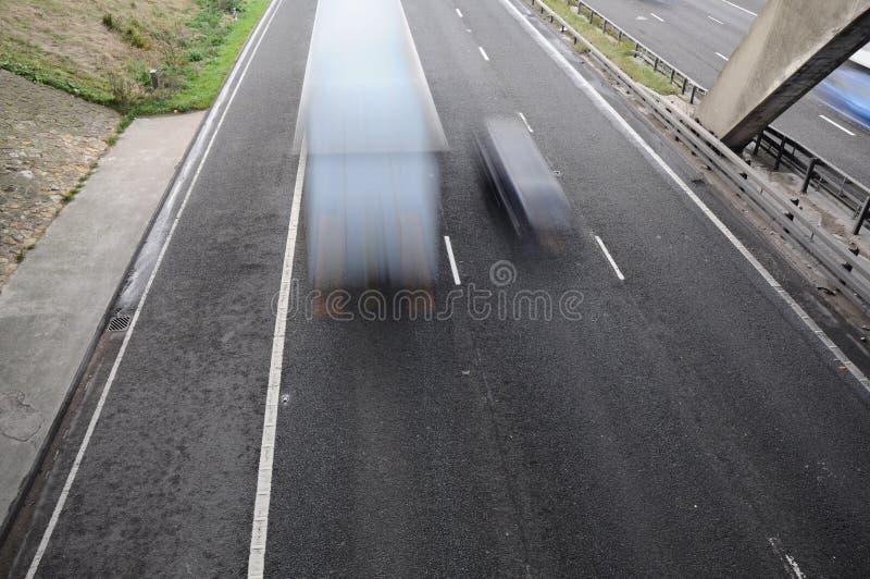 Rusa trafik royaltyfri foto