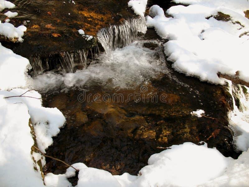 Ruscello di Coldwater immagini stock