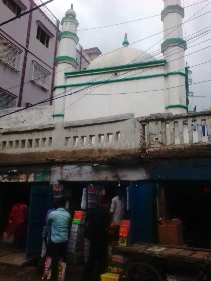 Ruse dat masjid in Bihar op de markt brengt royalty-vrije stock afbeelding