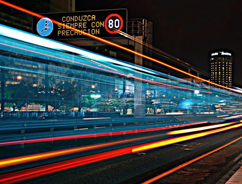 Rush. Drive carefully