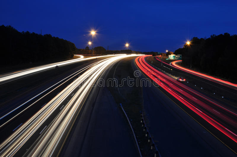 Download Rush Hour stock image. Image of blurred, high, drive - 22057439