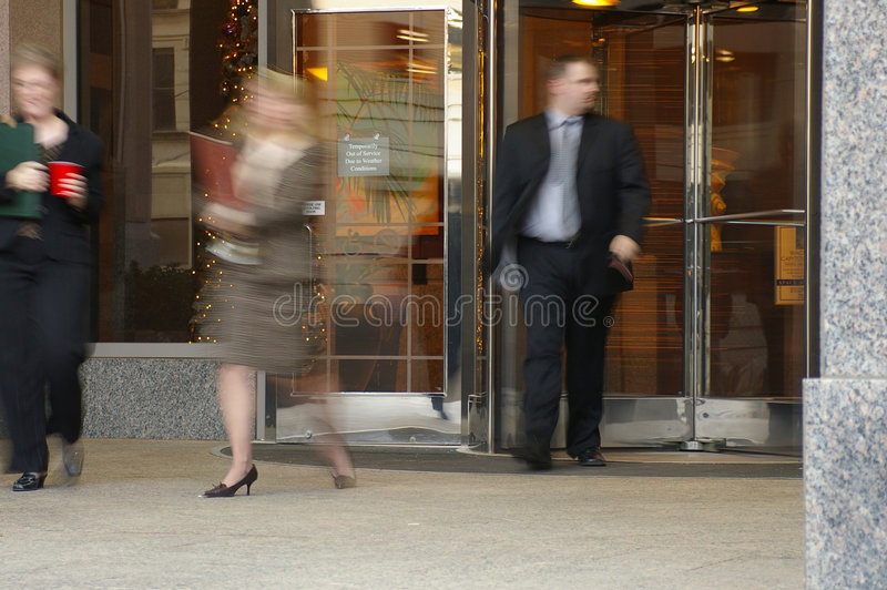 Rush hour royalty free stock images