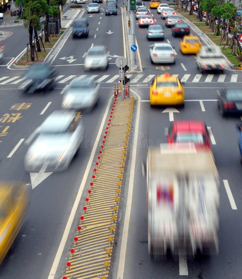 Rush Hour Traffic stock photo