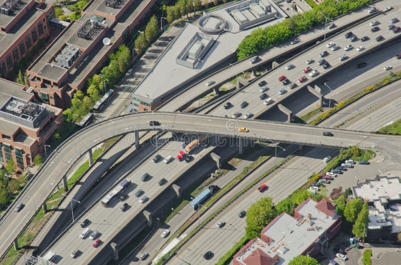 Rush Hour Traffic - Aerial
