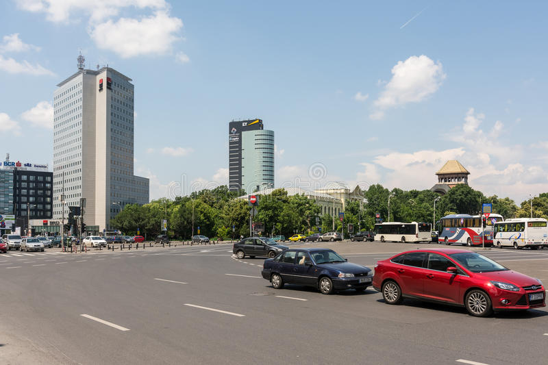 Download Rush Hour Traffic On Victory Square Editorial Image - Image of rush, city: 41892150