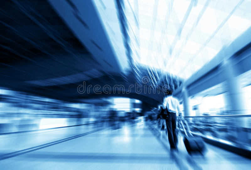 Download Rushing people stock photo. Image of airport, luggage - 19406274