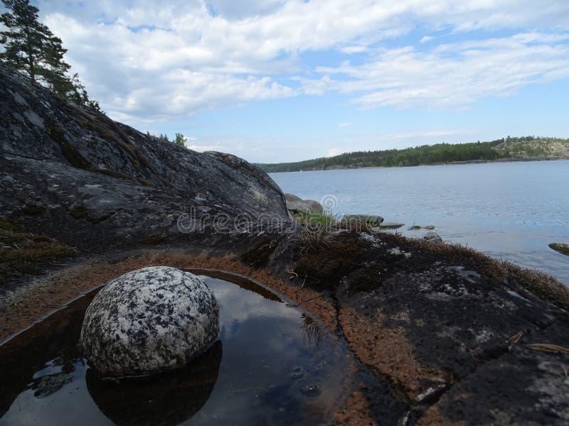 Rusia El viajar a Rusia Karelia fotos de archivo