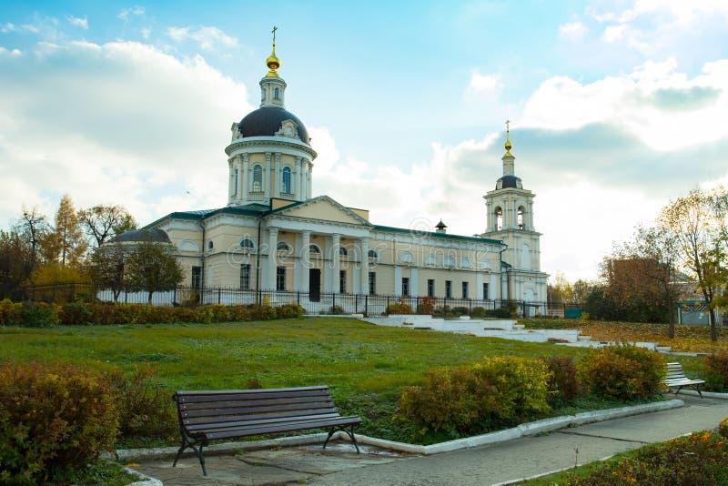 Rusia, Kolomna Iglesia ortodoxa de Michael Archangel fotografía de archivo libre de regalías