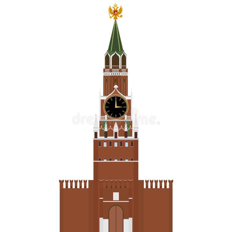 Rusia kremlin stock de ilustración