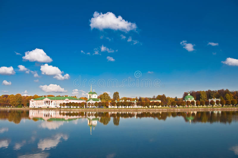 Rusia. Moscú. Kuskovo fotografía de archivo