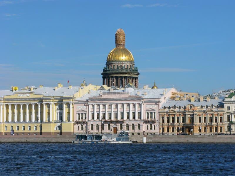 Rusia Panorama de St Petersburg fotos de archivo libres de regalías