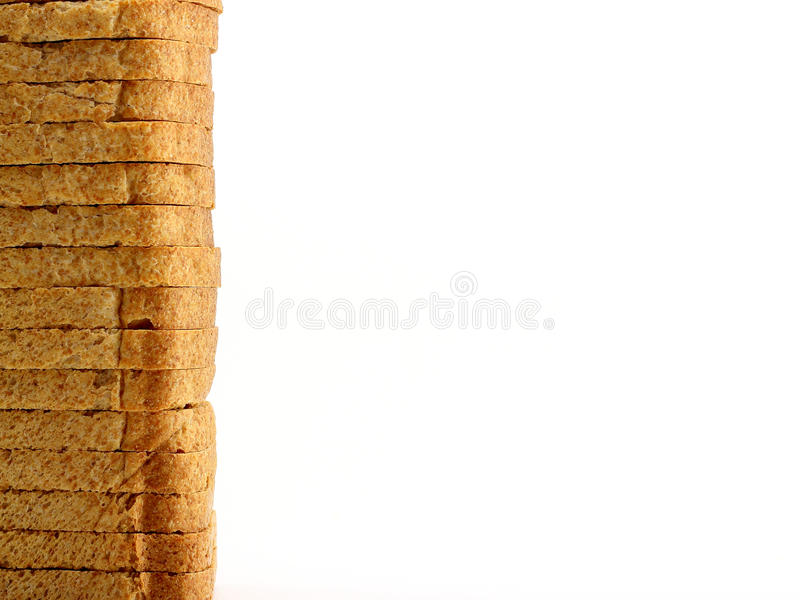 Rusk vertically stock image