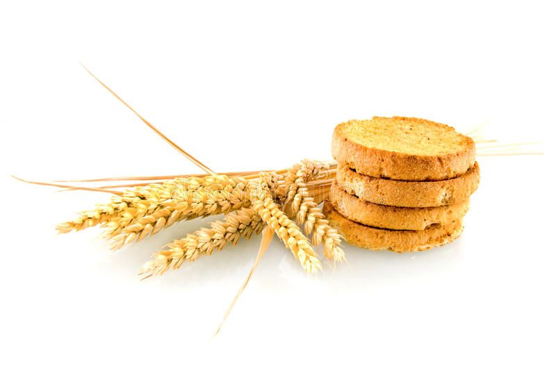 Download Rusk with wheat ear stock image. Image of wheat, agriculture - 10007347