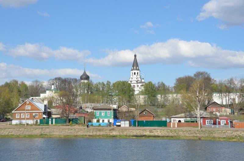 Rusland, Gouden ring, Alexandrov-stad in Vladimir-rigion royalty-vrije stock afbeelding