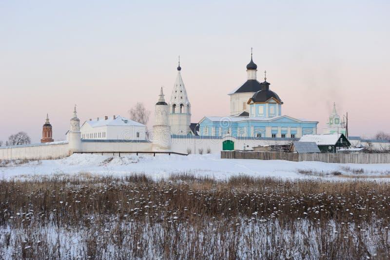 Rusland. Het gebied van Moskou. Het klooster van Bobrenev royalty-vrije stock afbeelding
