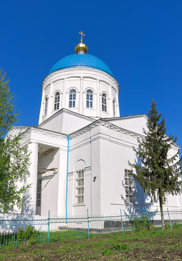 Rusland, het gebied van Orel. Kerk van St. Nicholas. royalty-vrije stock foto