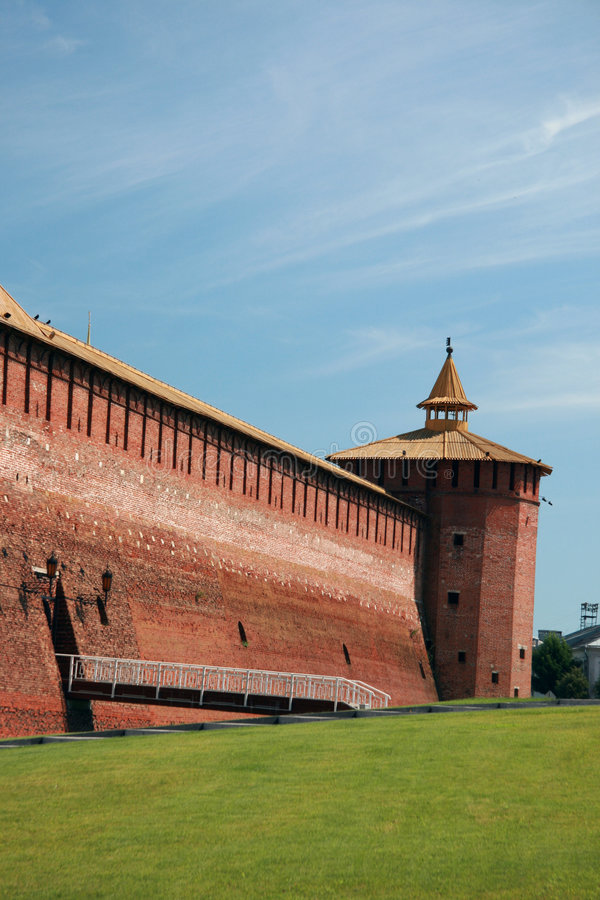 Rusland. Kolomna royalty-vrije stock afbeeldingen