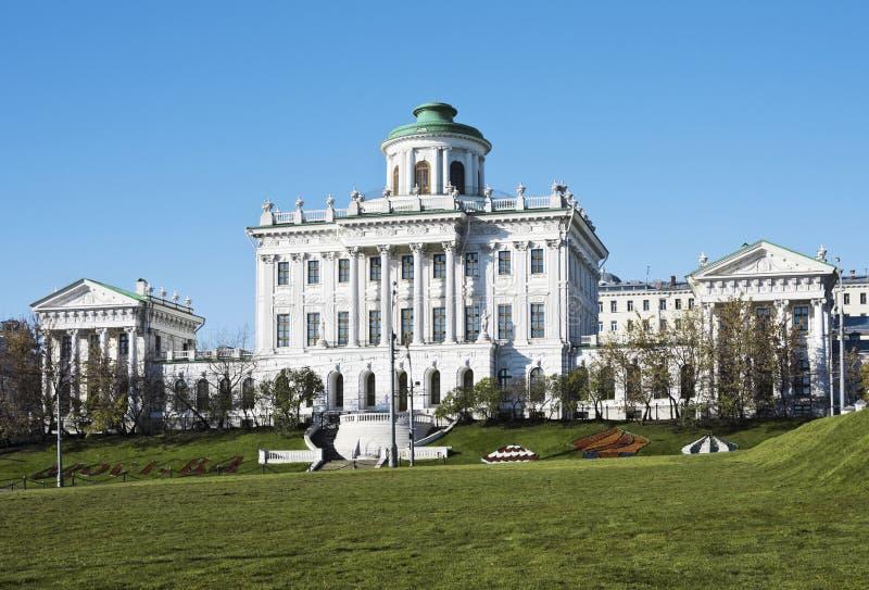Rusland, Moskou, huis Pashkova royalty-vrije stock foto's