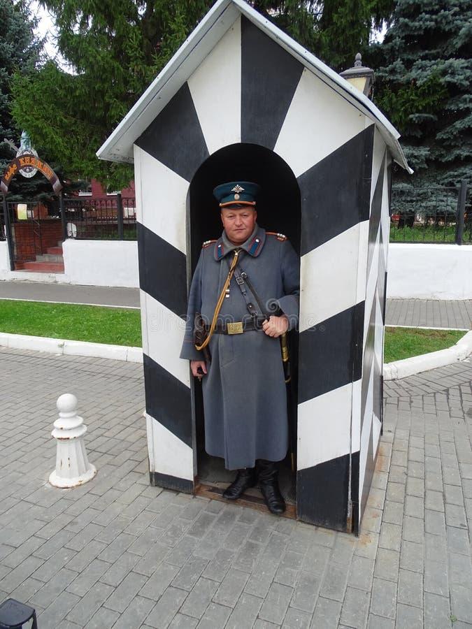 Rusland Reis aan Centraal Rusland De herfst Tula stock afbeelding