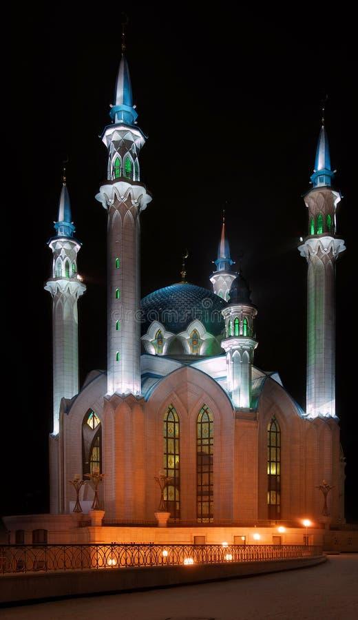 Rusland. Tatarstan. Kazan. De moskee van Sharif van Kul royalty-vrije stock fotografie