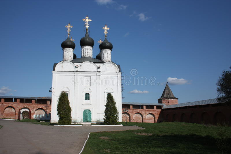 Rusland, Zaraysk. St. Nicholas Church. royalty-vrije stock foto's