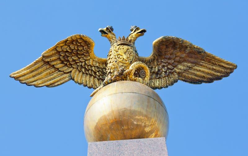Ruso del águila del estado fotografía de archivo libre de regalías