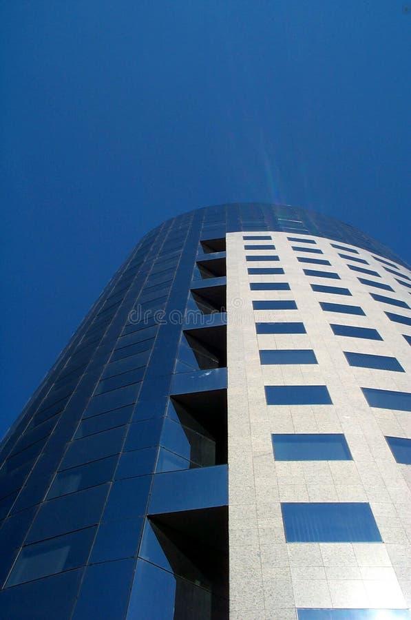 Ruspa spianatrice corporativa del cielo fotografie stock