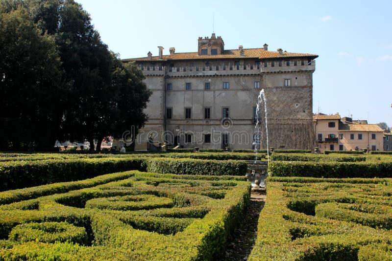Ruspoli Castle, Italy royalty free stock photo