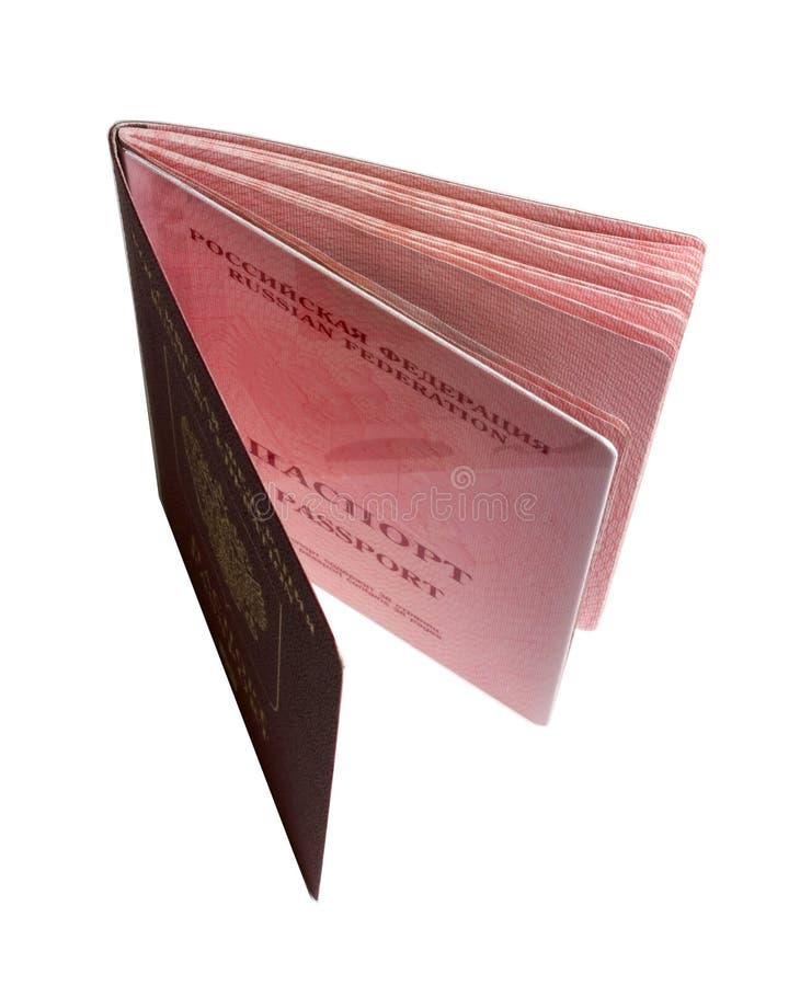 Russe neuf biométrique de passeport image libre de droits